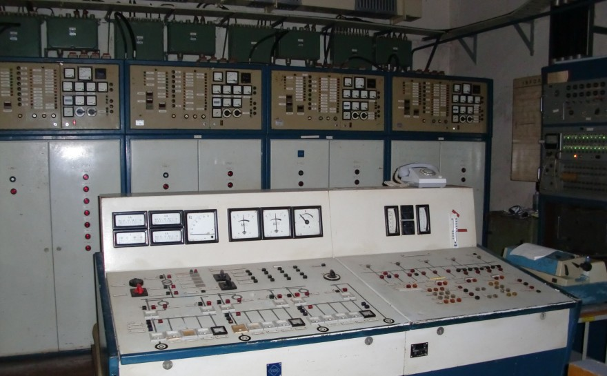 Bunker Tessin - Steuerstand des Dispatchers