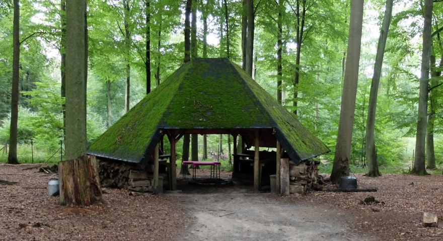 Tierpark Kunsterspring - Picknickhütte