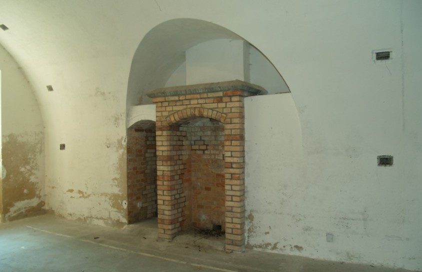 Fort Gorgast - Kamin in der Kasematte