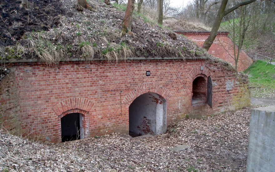 Fort Gorgast - Munitionsraum