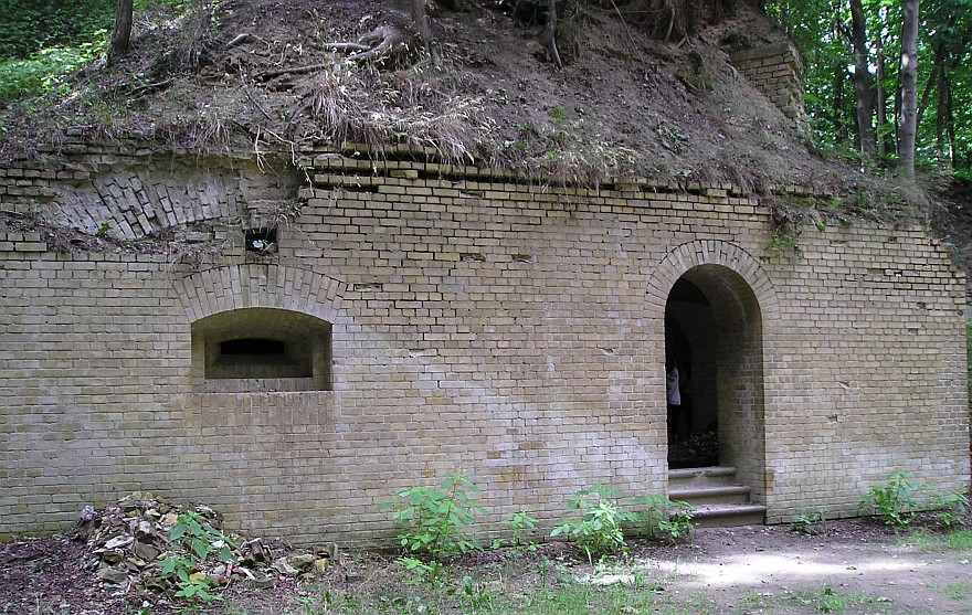 Fort Hahneberg - Infanterieausgang
